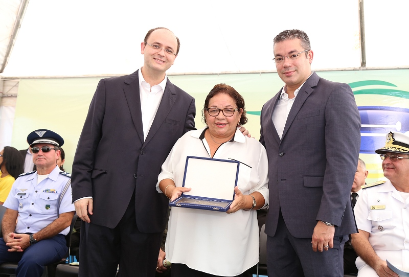 A secretária Graça Prola, em evento de homenagem do Dia da Mulher (Foto: Governo do Amazonas)