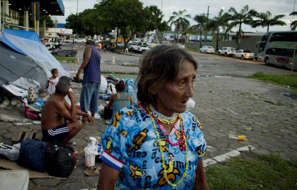 Mulher Warao, etnia indígena mais antiga do Delta do Orinoco, na Venezuela (Foto: Alberto César AraújoAmazônia Real)