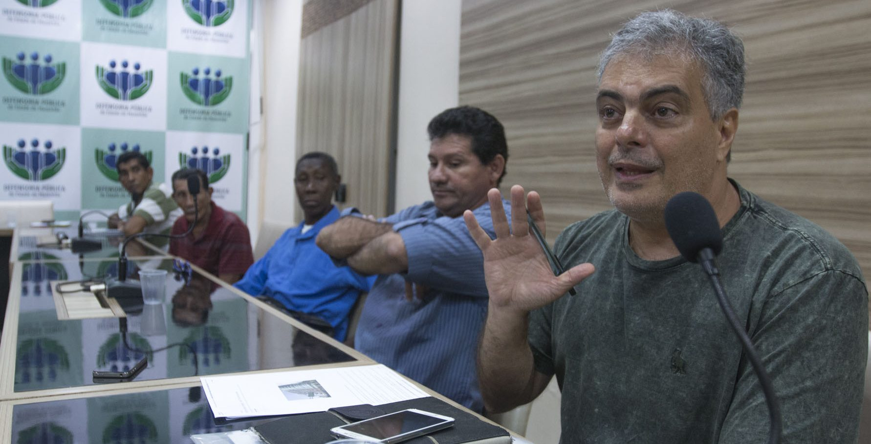 Horácio Antunes de Sant'Ana Júnior, professor de sociologia da UFMA (Foto: Amazônia Real)
