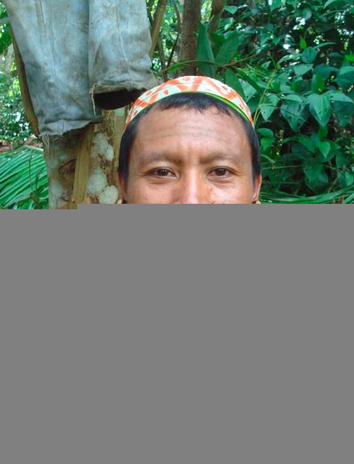 Tëpi era o único em seu povo a ser chamado xó'xókit, um curador poderoso (Foto arquivo pessoal)