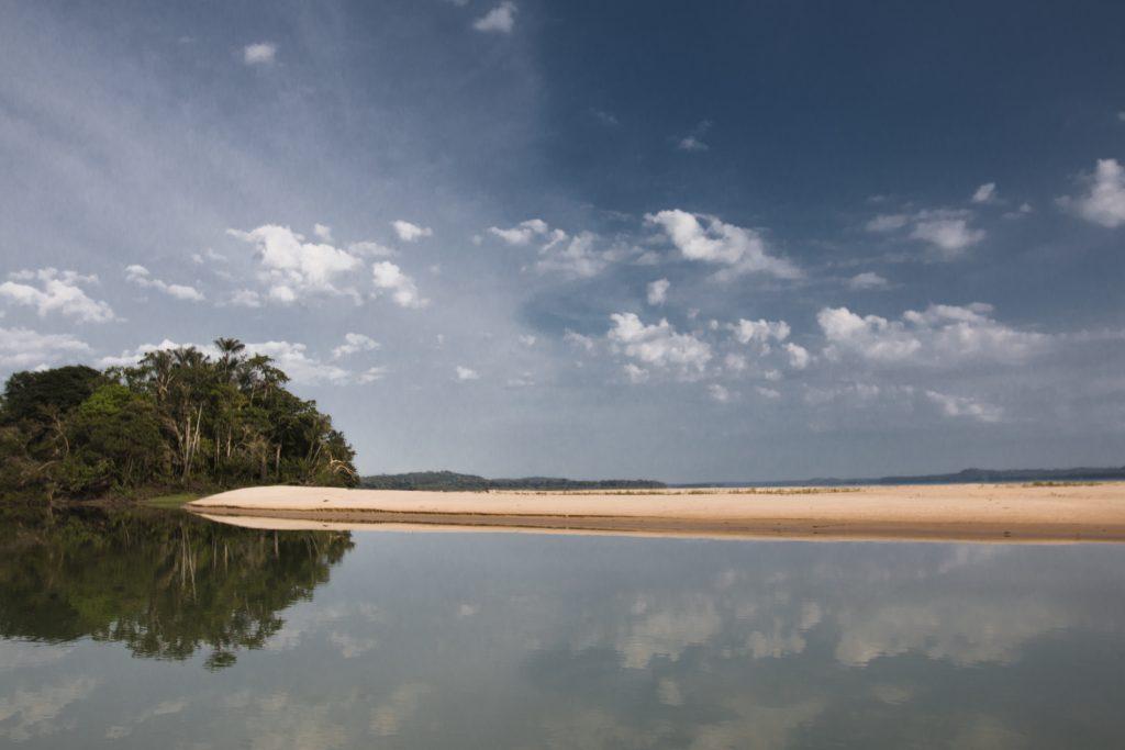 A Terra Indígena Sawré Muybu, dos Munduruku fica às margens do Rio Tapajós (Foto: Ana Mendes/Amazônia Real)
