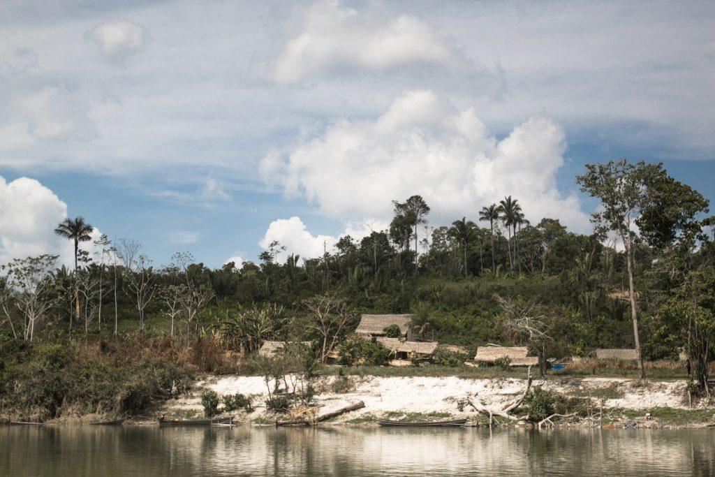 A Terra Indígena Sawré Muybu, dos Munduruku fica no Rio Tapajós, no Pará (Foto: Ana Mendes/Amazônia Real)