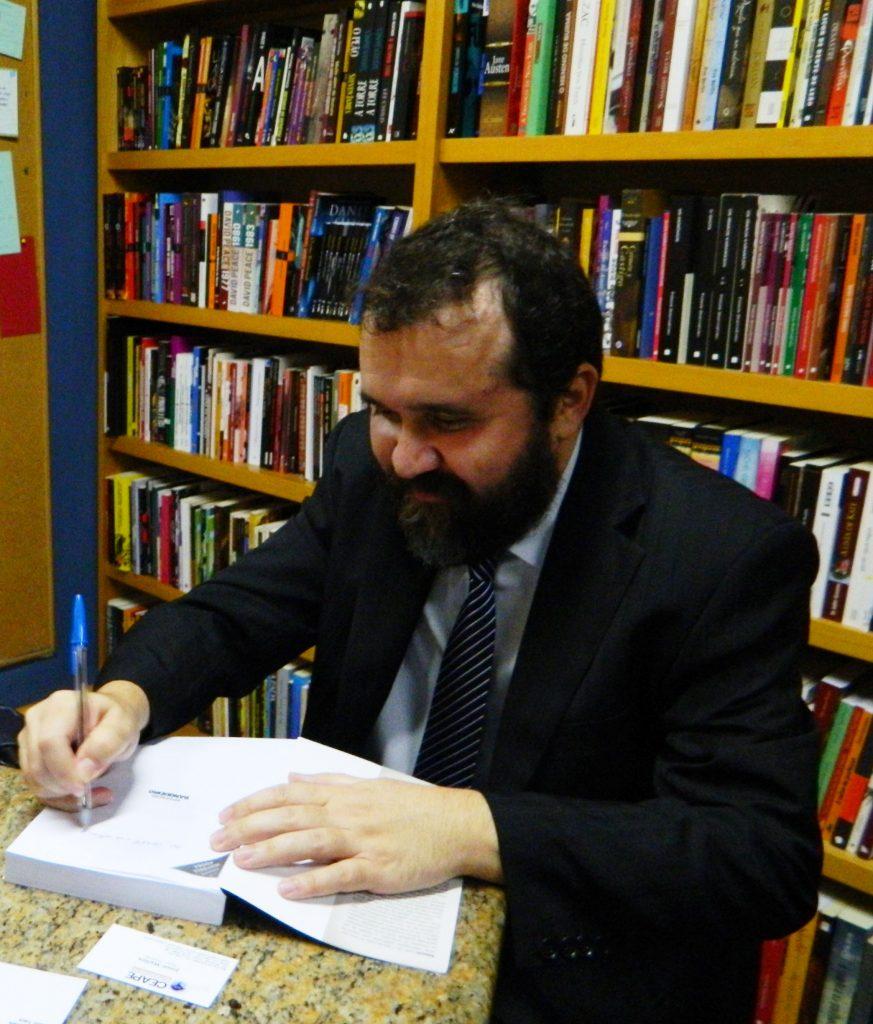 O jornalista Rubens Valente (Foto reprodução do Facebook)