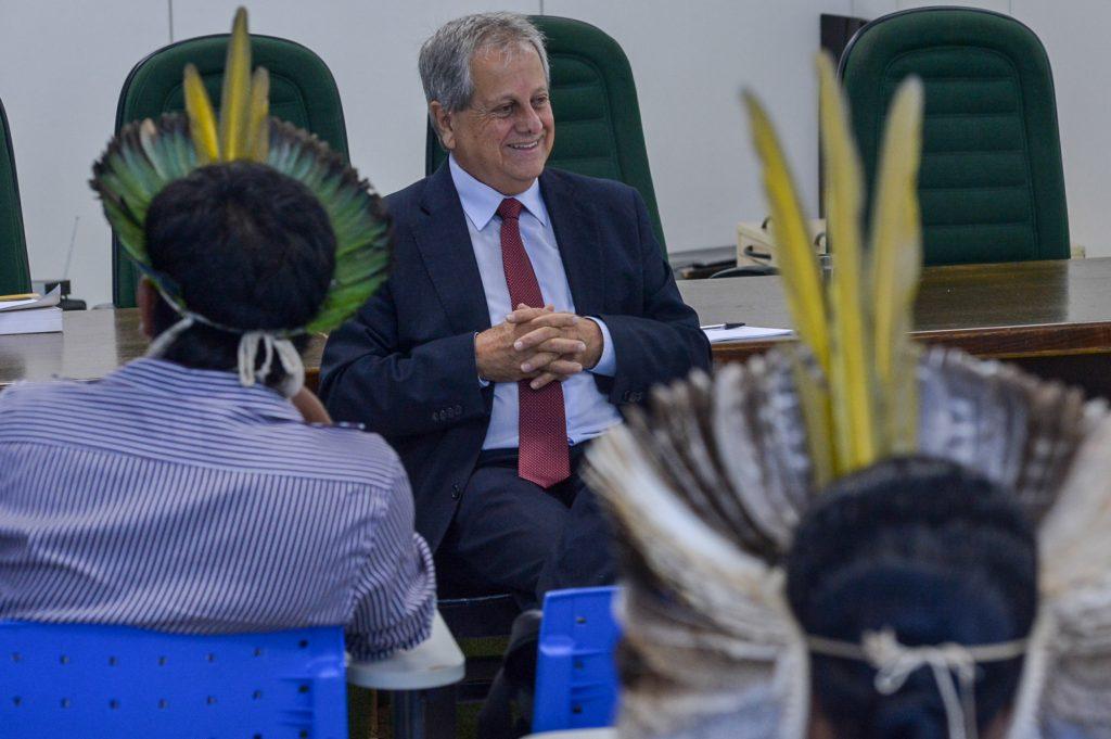 Reunião com Fórum dos Caciques Mato Grosso do Sul (Foto: Mario Vilela/Funai)