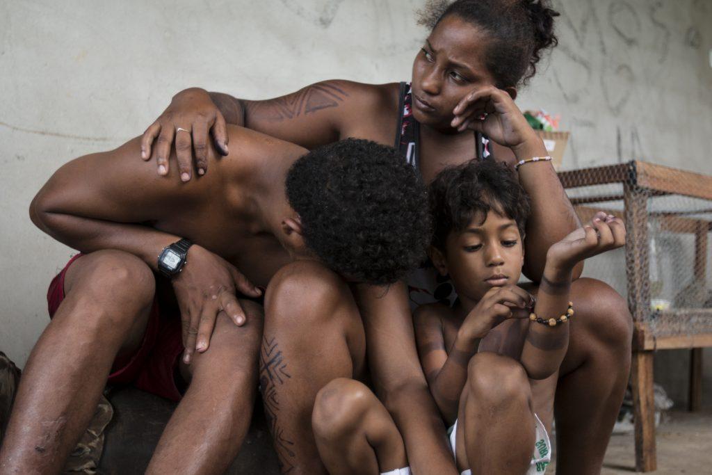 Índios Gamelas sofreram ataque de pistoleiros e fazendeiros (Foto: Ana Mendes/CIMI)