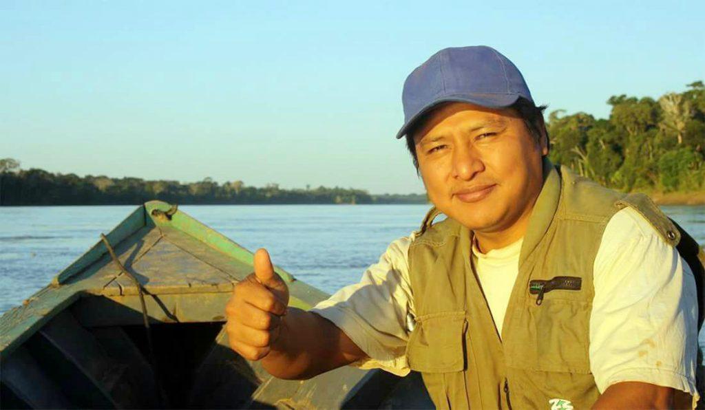 Adamo Americo Diego Cusi, militante dos direitos dos povos indígenas e ambientais da Bolívia (Foto: Fábio Zuker/Amazônia Real)