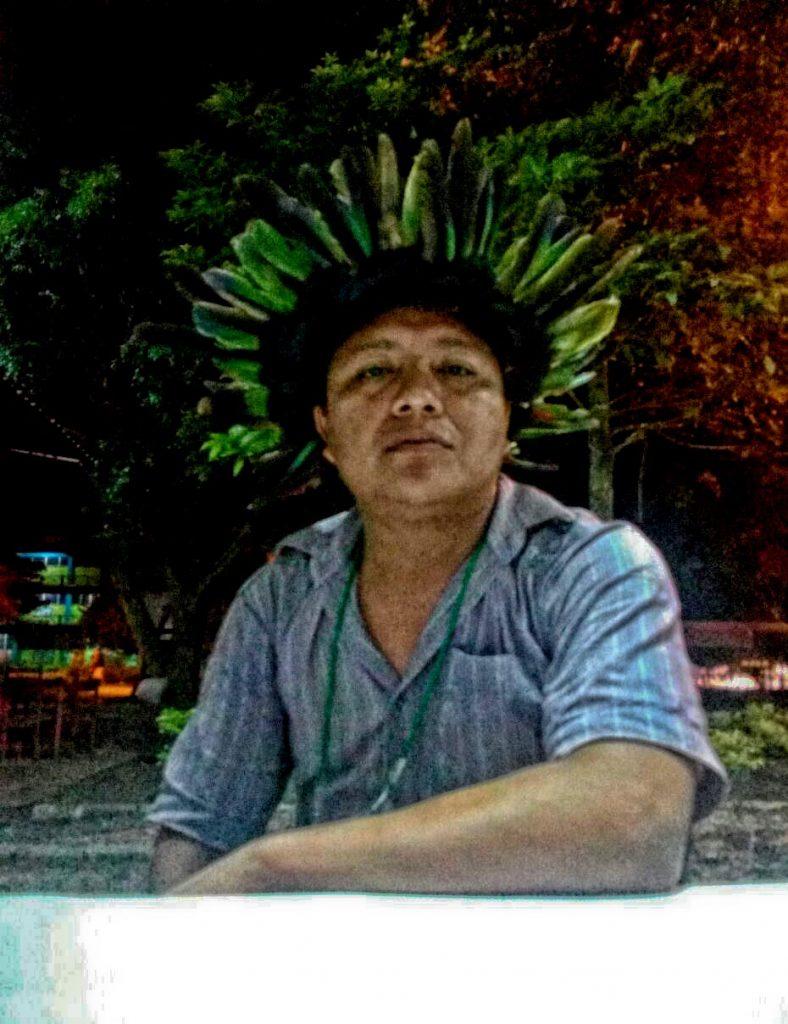 Adriano Karipuna, Conselheiro de Saúde Porto Velho, em Rondônia (Foto: Fábio Zucker/Amazõnia Real)