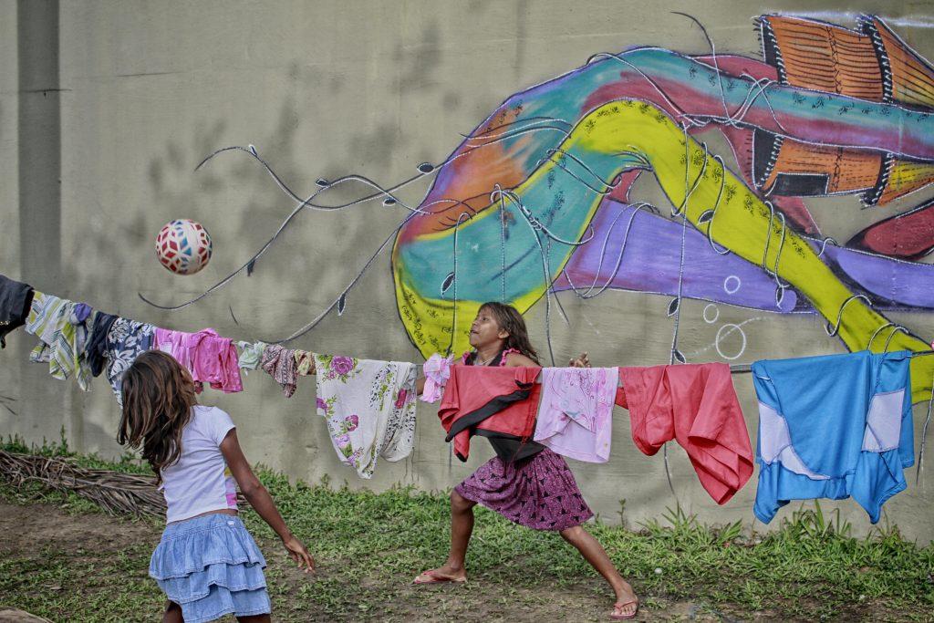 Migrantes não receberam acolhimento previsto em lei (Foto:Alberto César Araújo/Amazônia Real)