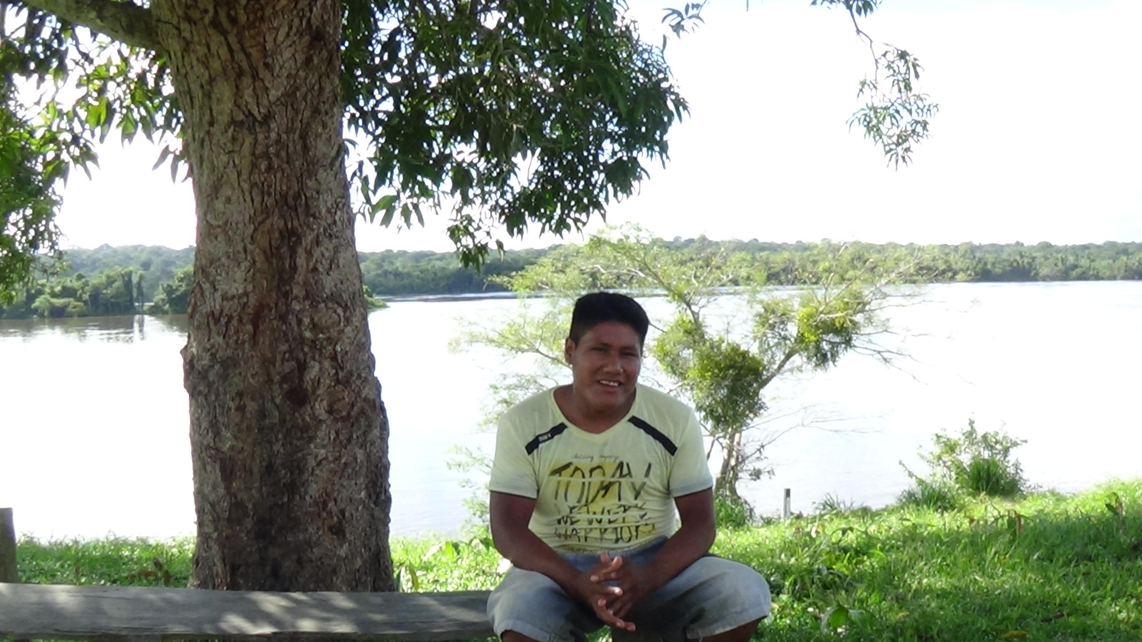 A gente vê agora o nosso rio com muita poluição, diz Laureci Munduruku