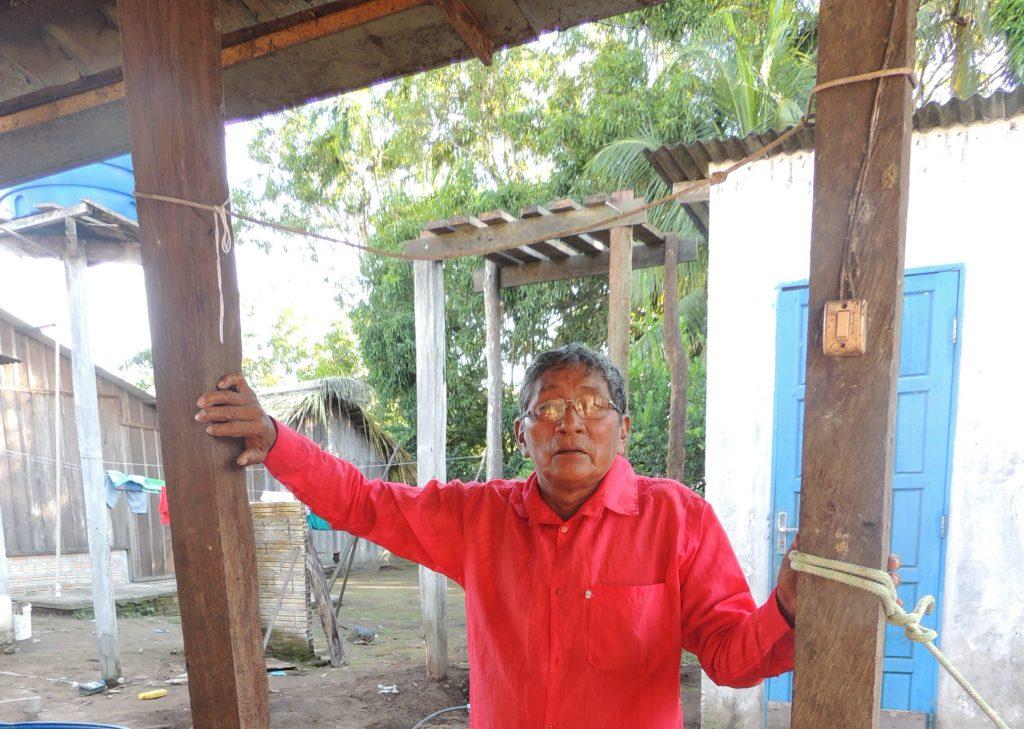 O indígena Atú Kayabi, da aldeia Kururuzinho, na Bacia do Teles Pires, no Pará (Foto: SucenalCV/FTP)