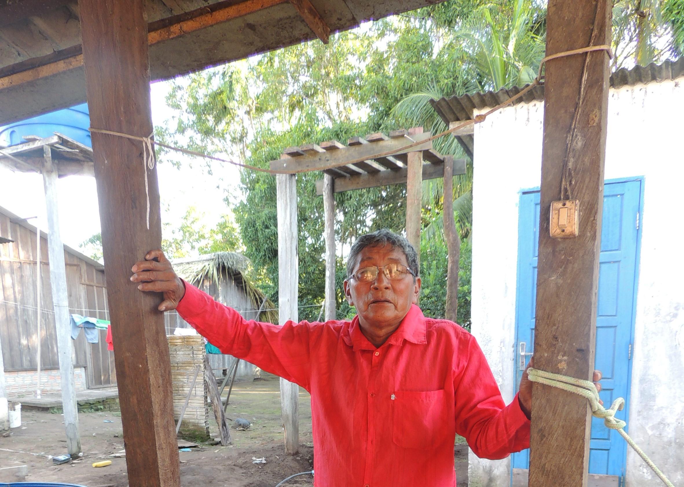"""""""Depois que a usina começou a barragem, o rio Teles Pires modificou muito"""", diz Atú Kayabi"""