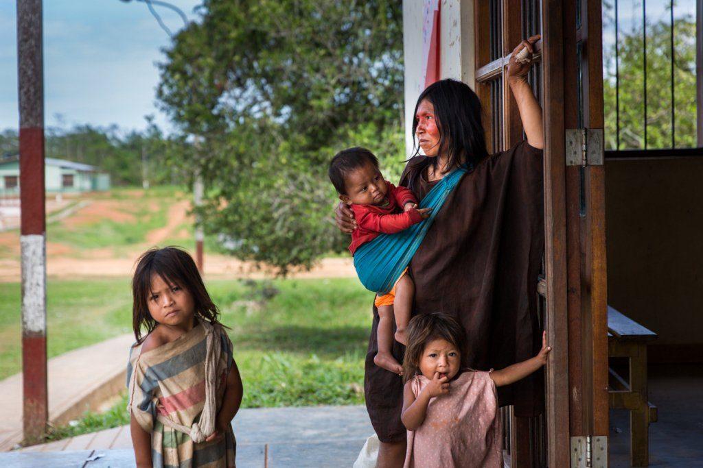 As crianças, mulheres e idosos são os que mais sentem os impactos socioambientais (Foto: Fospa Divulgação)