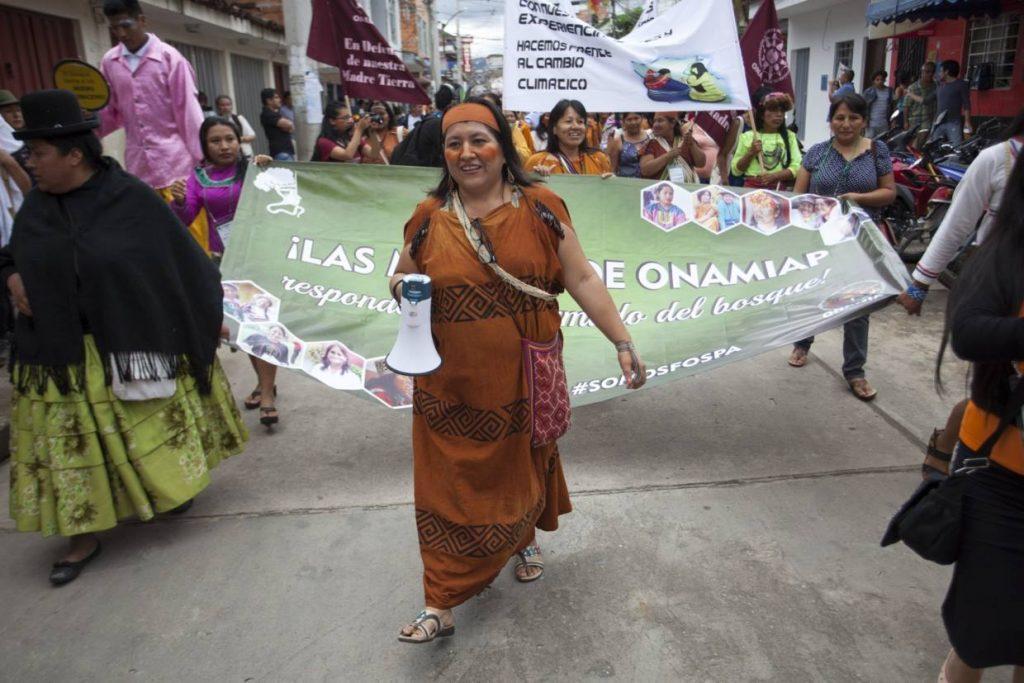 Ketty Marcelo Lopez, indígena Ashaninka de Pucharini, e presidenta da Onamiap (Fotos: Fospa Divulgação)