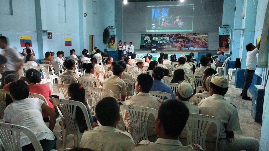 Plenário do VIII Fórum Panamazônico (Foto: Fospa Peru)
