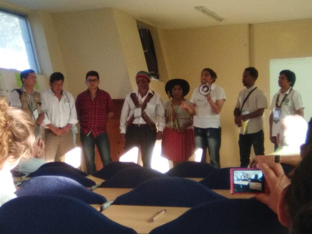 Plenária durante o Fórum Social Panamazônico (Foto: Fospa)