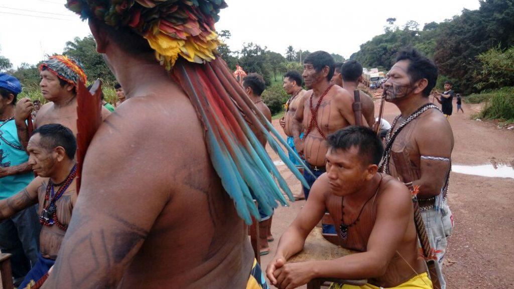 Governo quer impedir protestos de indígenas em rodovias (Foto: Associação Pariri)