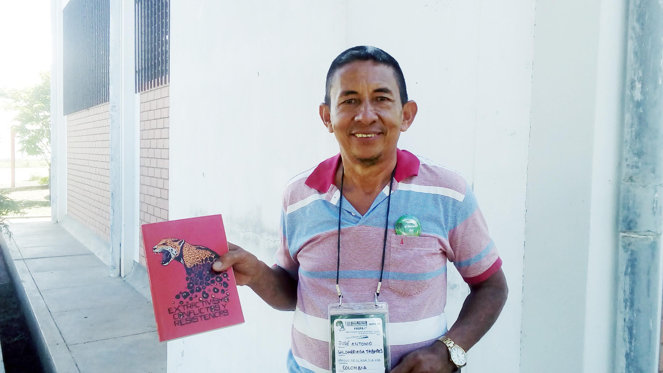"""""""Bloqueamos a ponte por dois meses, nos expulsaram a balas"""", diz José Antonio Saldarriaga Tabares, da Colômbia"""