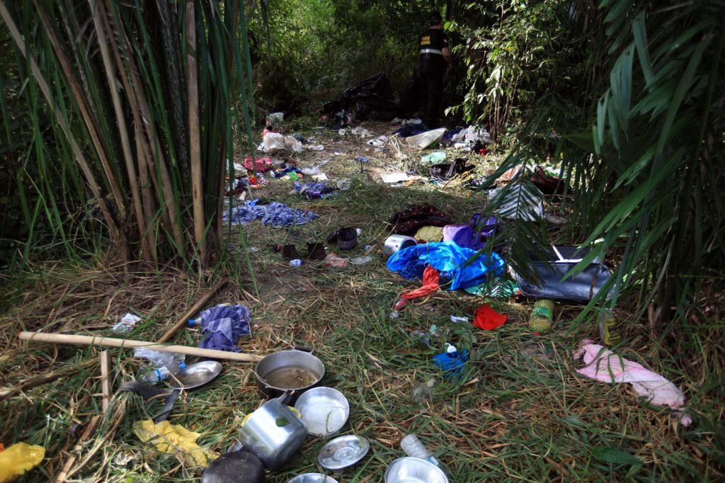 Acampamento dos sem-terra após os crimes em Pau D´Arco(Foto: Mácio Ferreira/Agência Pará)