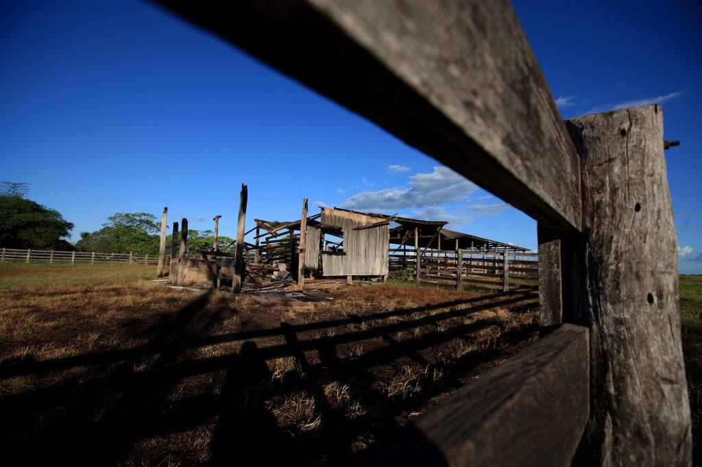 Fazenda Santa Lúcia 1, em Pau D´Arco (Foto: Mácio Ferreira/Agência Pará)