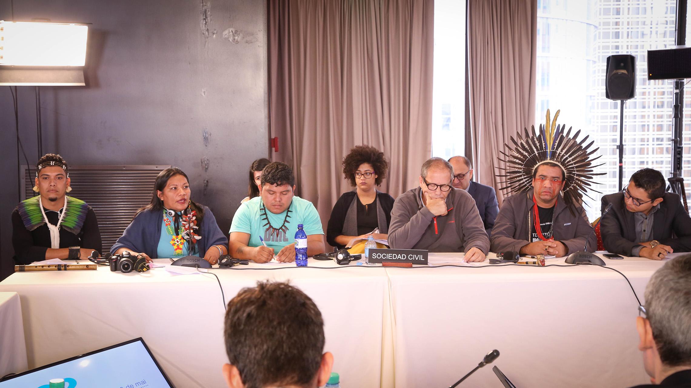 audiência pública da Comissão Interamericana de Direitos Humanos, em Buenos Aires (Foto: Caio Mota)