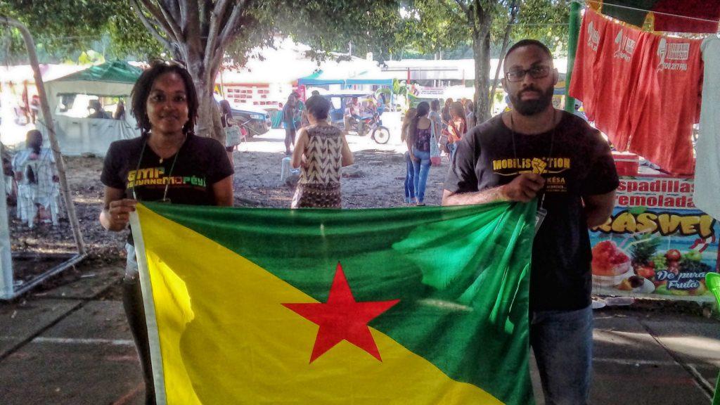 Ninsey Kramer e Jean Georges Maïas (Foto: Fábio Zucker/Amazônia Real)