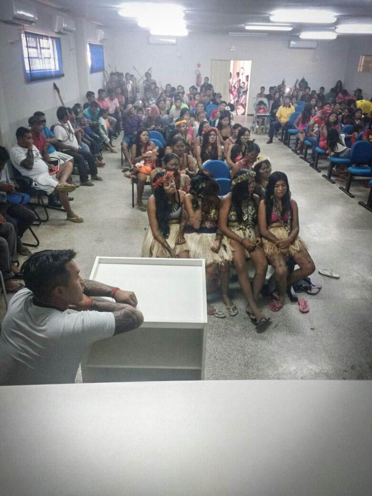 Seminário do programa ambiental da UHE Teles Pires (Foto: Caio Mota)
