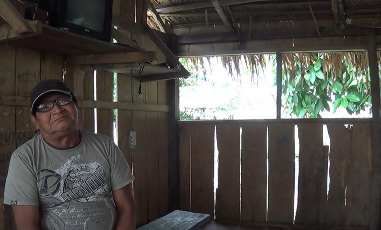 Basílio Waro Munduruku sente saudades de um rio Teles Pires com abundância de peixes