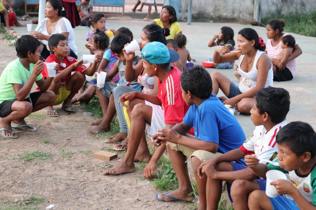 Os Warao chegam em busca de refúgio e comida em Roraima (Foto: Vandré Fonseca/Amazônia Real)