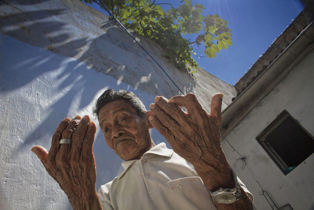 Kumu Duhpó Manoel Lima, da etnia Tuyuka, do Alto Rio Negro (Foto: Alberto César Araújo/Amazônia Real)