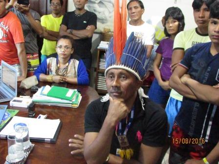 Raimundo Sobrinho em reunião com os Kinja em 2016 (Foto: PWA)