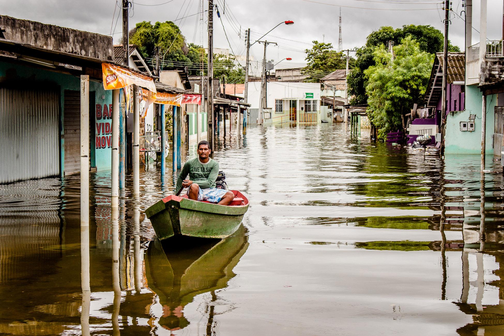 Danos sociais de enchente do rio Branco estão associados à ocupação irregular de APPs em Roraima, diz Inpa