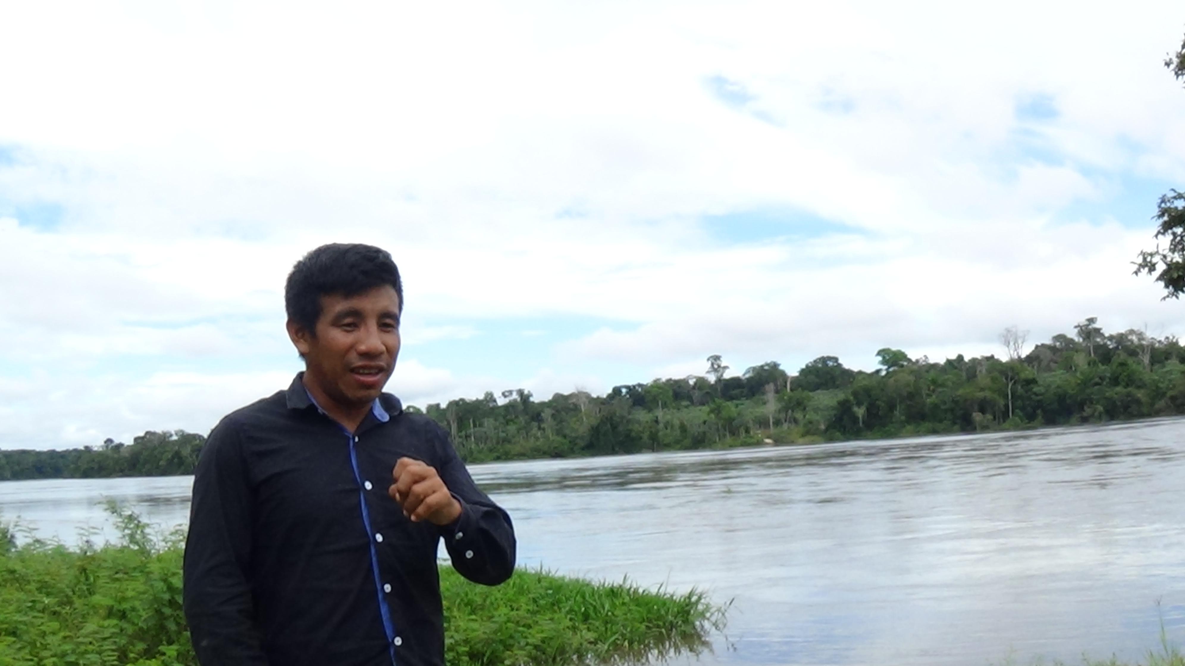 """""""Um dia esse rio (Teles Pires) vai morrer e meus filhos vão passar fome"""", diz Paulo Kaybi"""