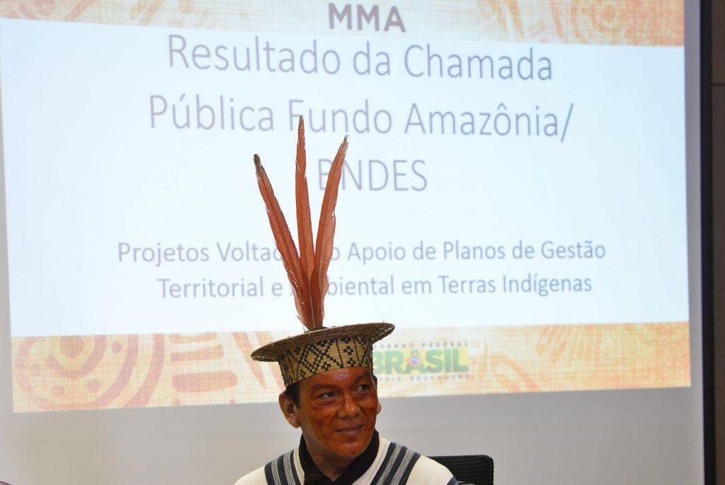 Francisco Pianko, durante anúncio durante reunião do Fundo Amazônia (Valter Campanato/Agência Brasil)