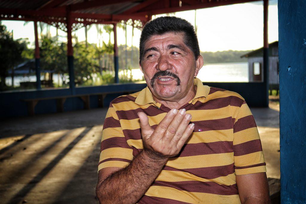 O agente ambiental Luís Sérgio dos Reis. (Vandré Fonseca/Amazônia Real)