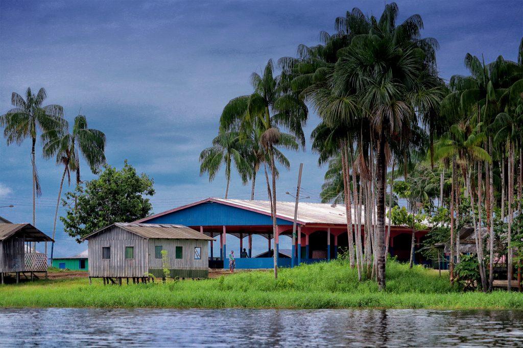 Comunidade Boa Esperança, RDS Amanã.(Vandré Fonseca/Amazônia Real)