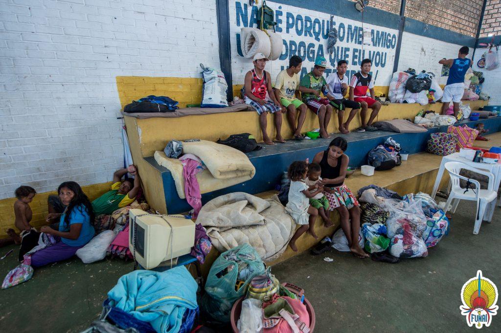 O Centro de Referência ao Imigrante em Boa Vista (Foto: Mário Vilela/Funai)