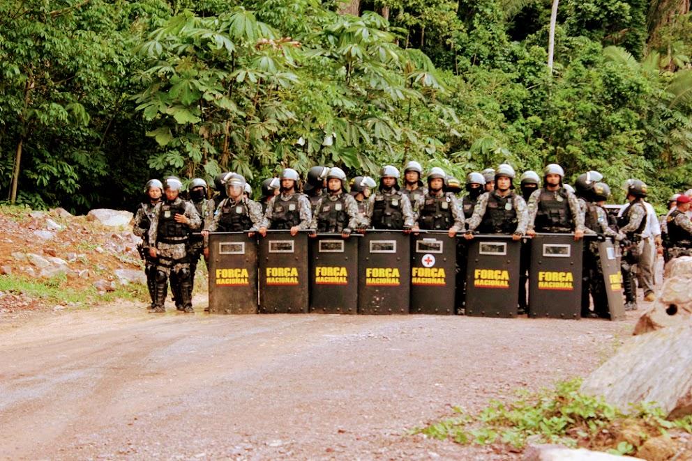 Índios Munduruku são impedidos de fazer rituais pela Força Nacional no Mato Grosso