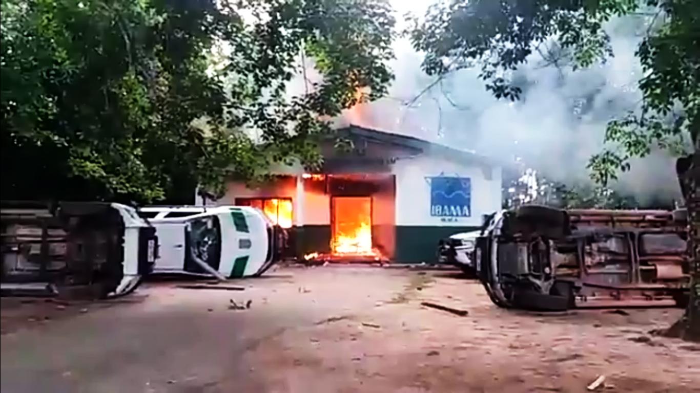"""""""Eles iam entrar na área militar e não ia prestar"""", diz fiscal do Ibama sobre revolta de garimpeiros em Humaitá"""