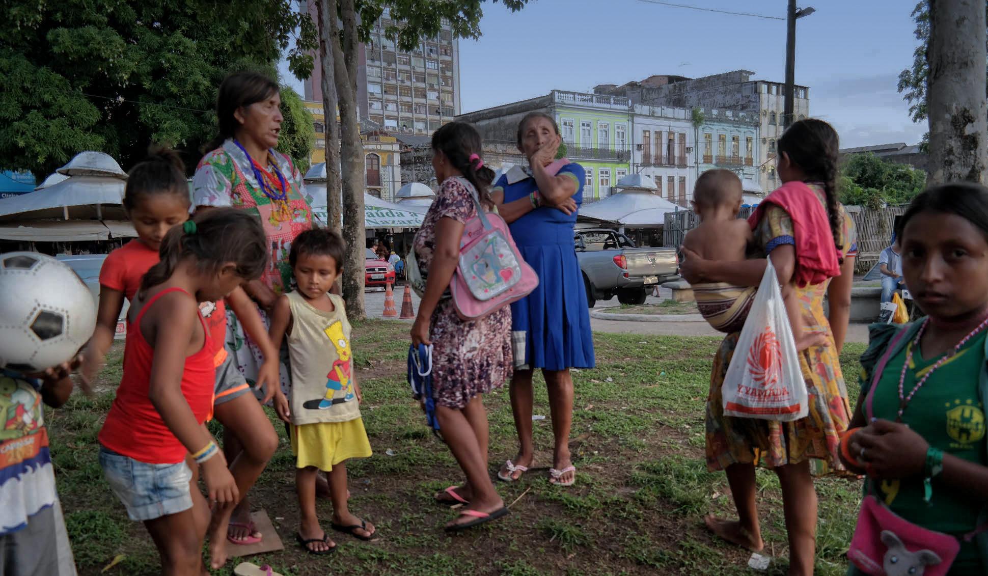 Migrante cidadão: a sobrevivência dos Warao em Belém e Santarém