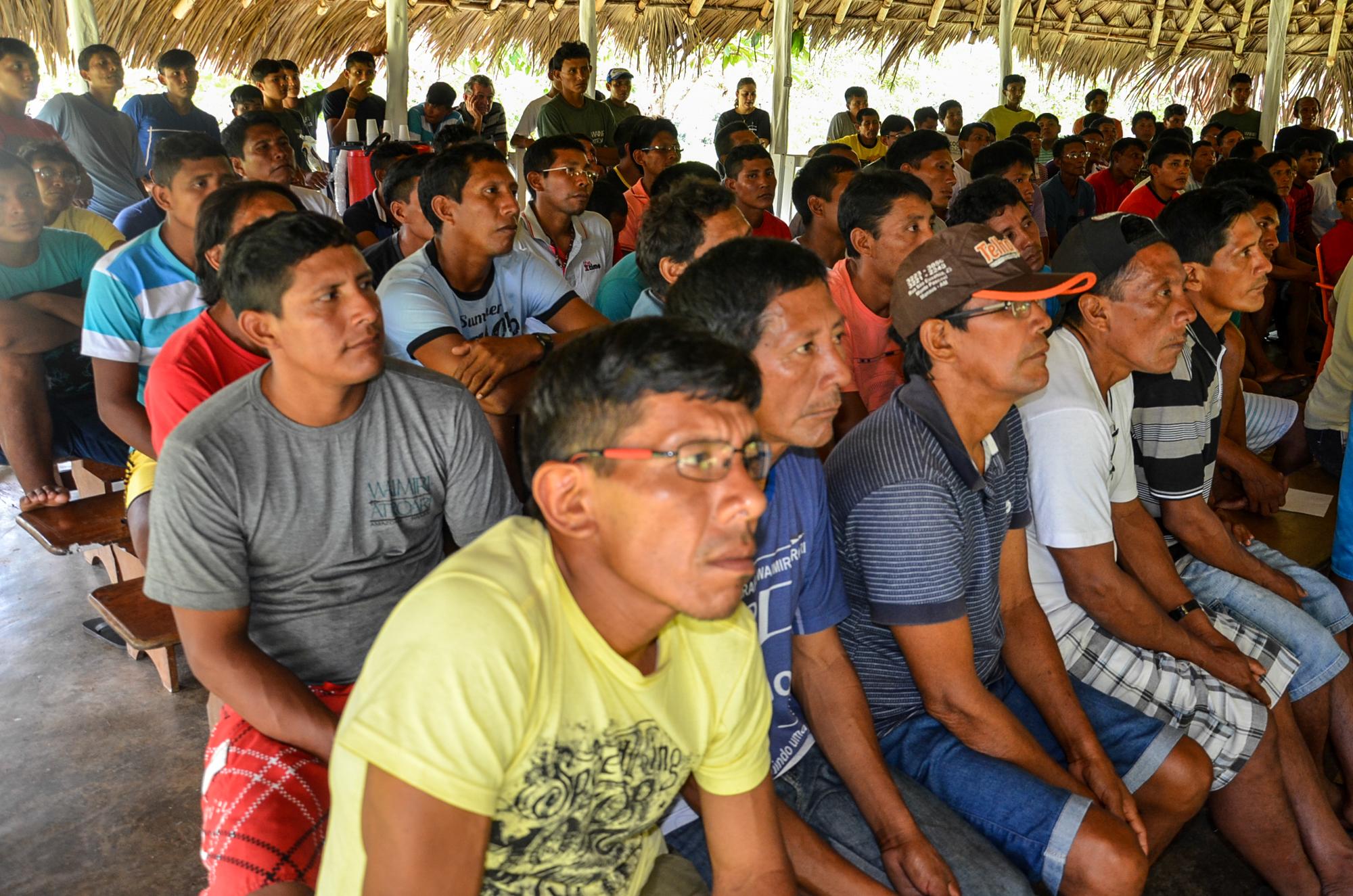 """Índios Waimiri Atroari repudiam """"emendas jabutis"""" do Linhão de Tucuruí"""