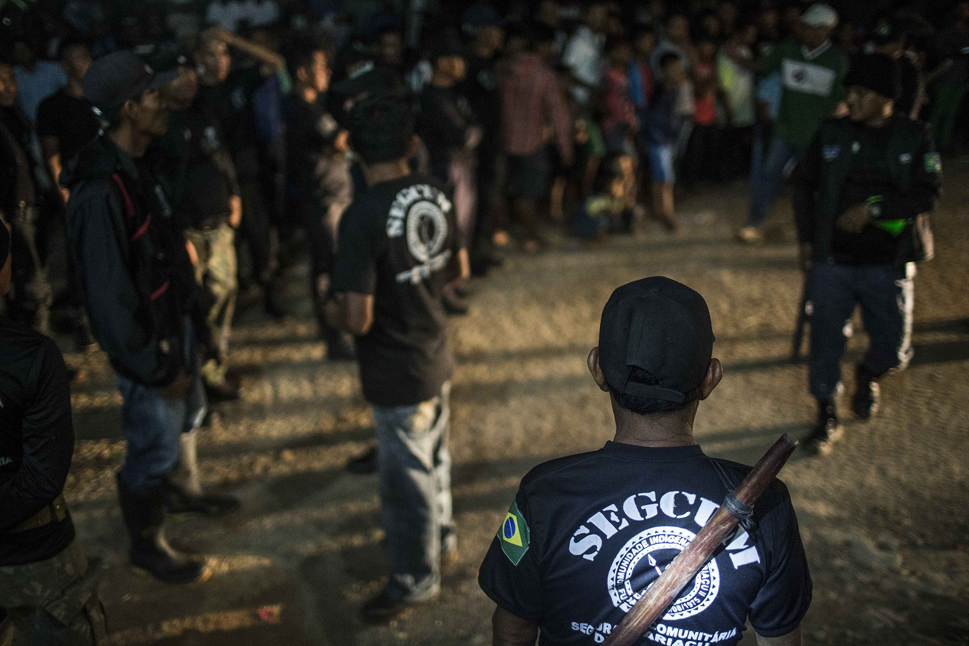 A volta da polícia indígena Ticuna no Alto Solimões
