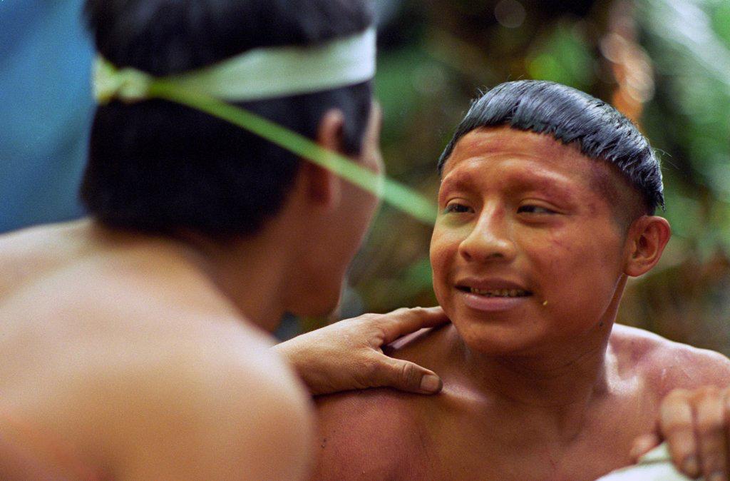 The Magnificent Korubo: a Sebastião Salgado's studio in the Amazon forest