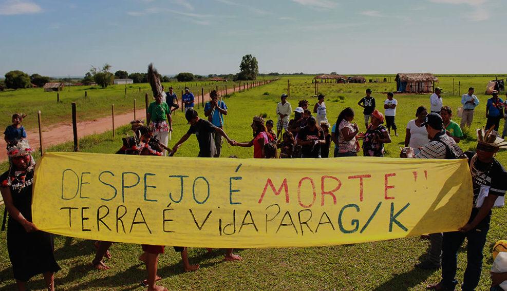 Justiça Federal ordena três reintegrações de posse contra os Guarani Kaiowá, no MS