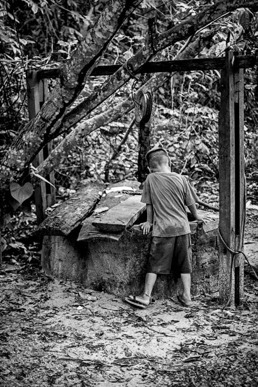 Comunidade de Barcarena (Cícero Pedrosa Neto/Amazônia Real)