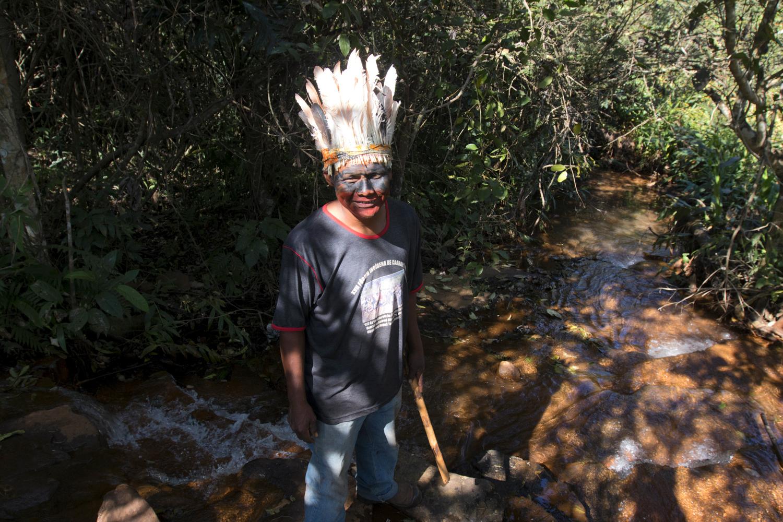 Índios Guarani Kaiowá estão em vigília contra despejos da PF em Caarapó
