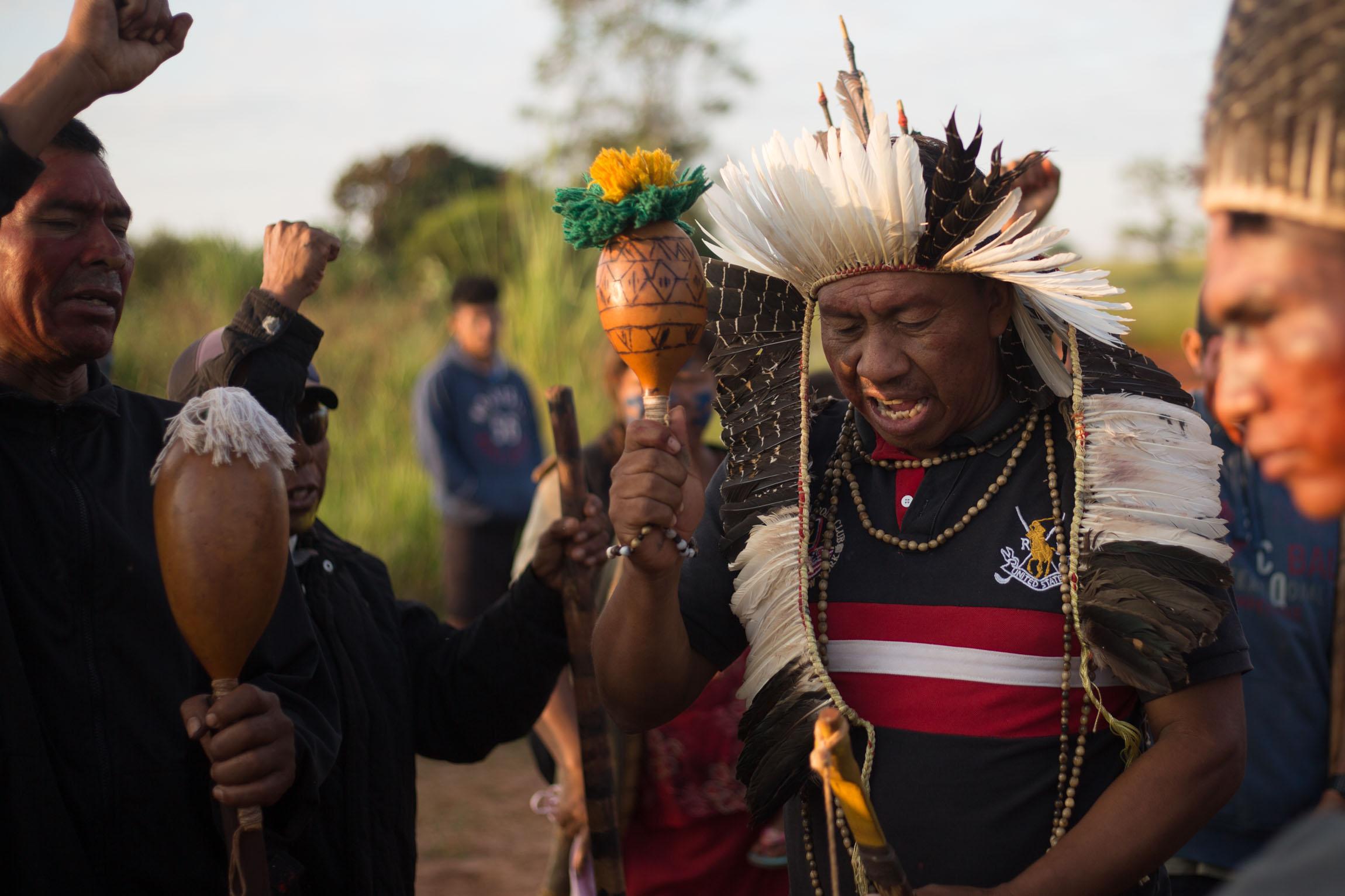 STF cancela despejos da PF para evitar violência contra os índios Guarani Kaiowá