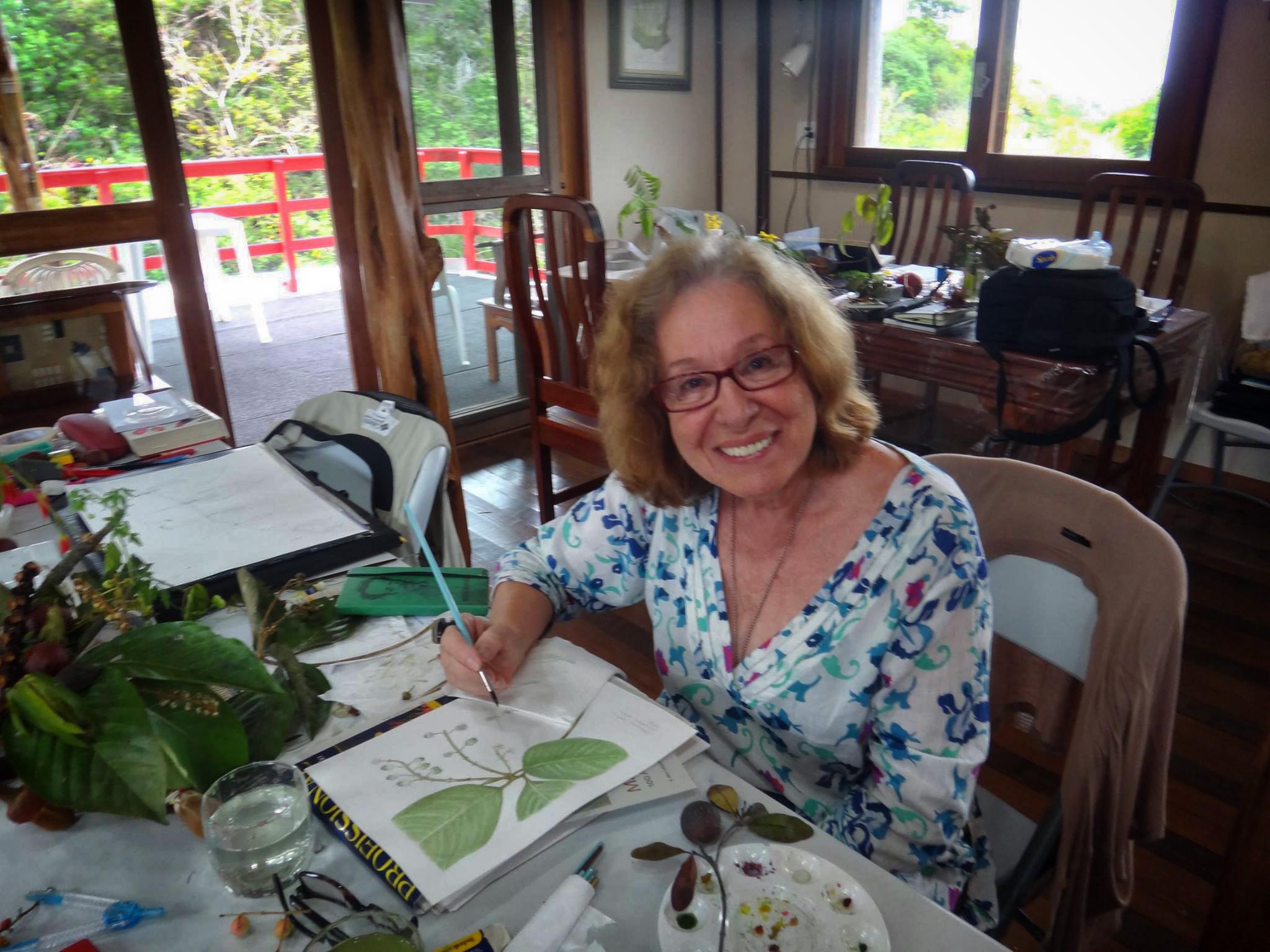 Leyla Leong destaca as ilustrações de Margaret Mee na agenda cultural de julho
