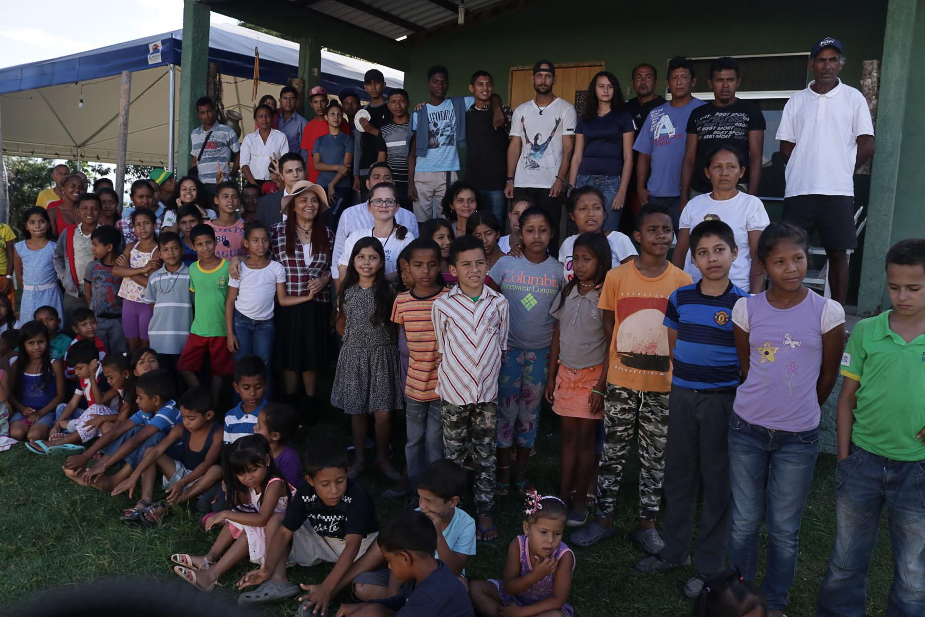 Migrante cidadão: crianças vítimas de ataque em Pacaraima recebem apoio de brasileiros