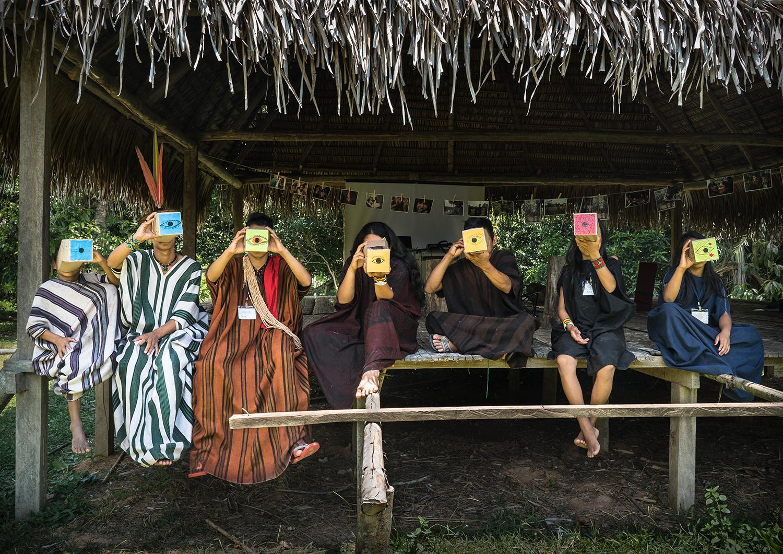A fotografia e o protagonismo Indígena