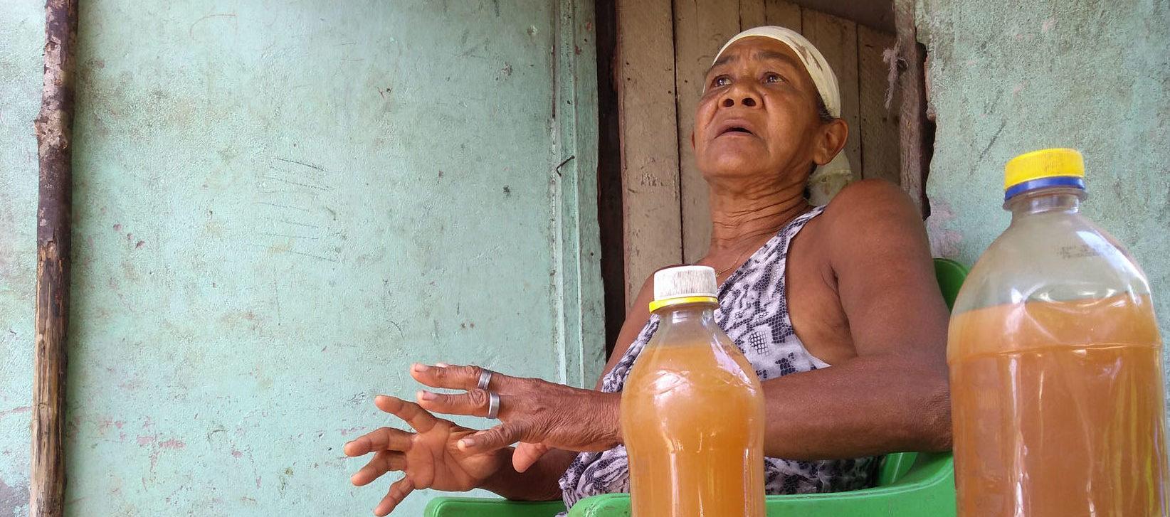 Ministério Público faz vistoria após suspeita de novo vazamento em Barcarena